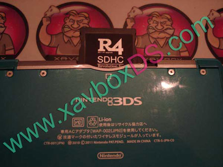 R4 sdhc rts compatible 3DS
