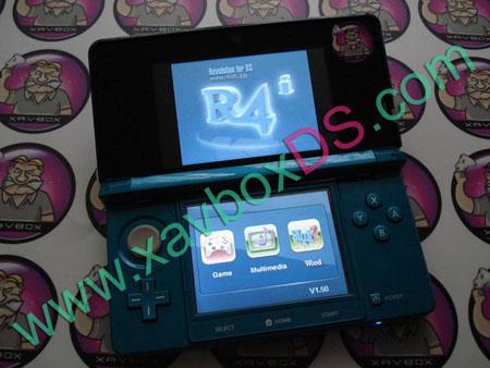 menu R4i gold 3DS