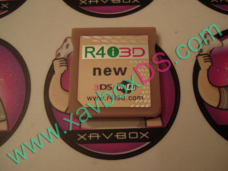 R4i 3D new