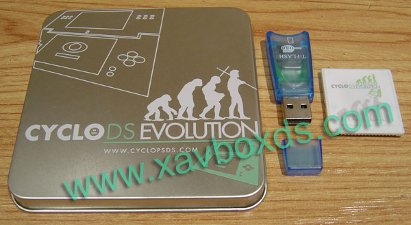 CycloDS Evolution ۩۩ adaptateur carte micro SD
