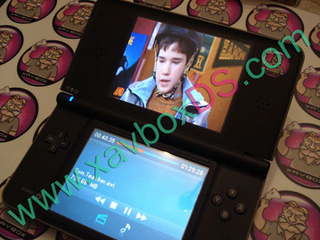video sur dsi xl